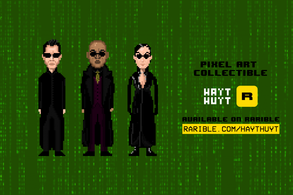 The Matrix / Pixel Art NFT