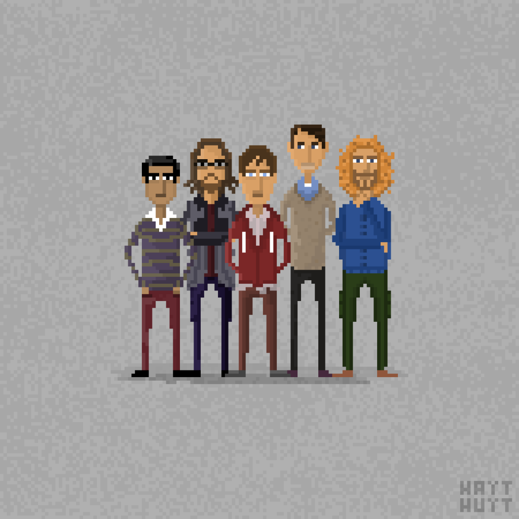 Silicon Valley / Pixel Art