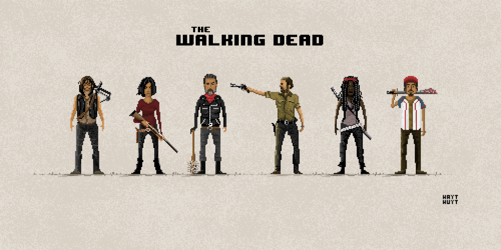 The Walking Dead / Pixel Art