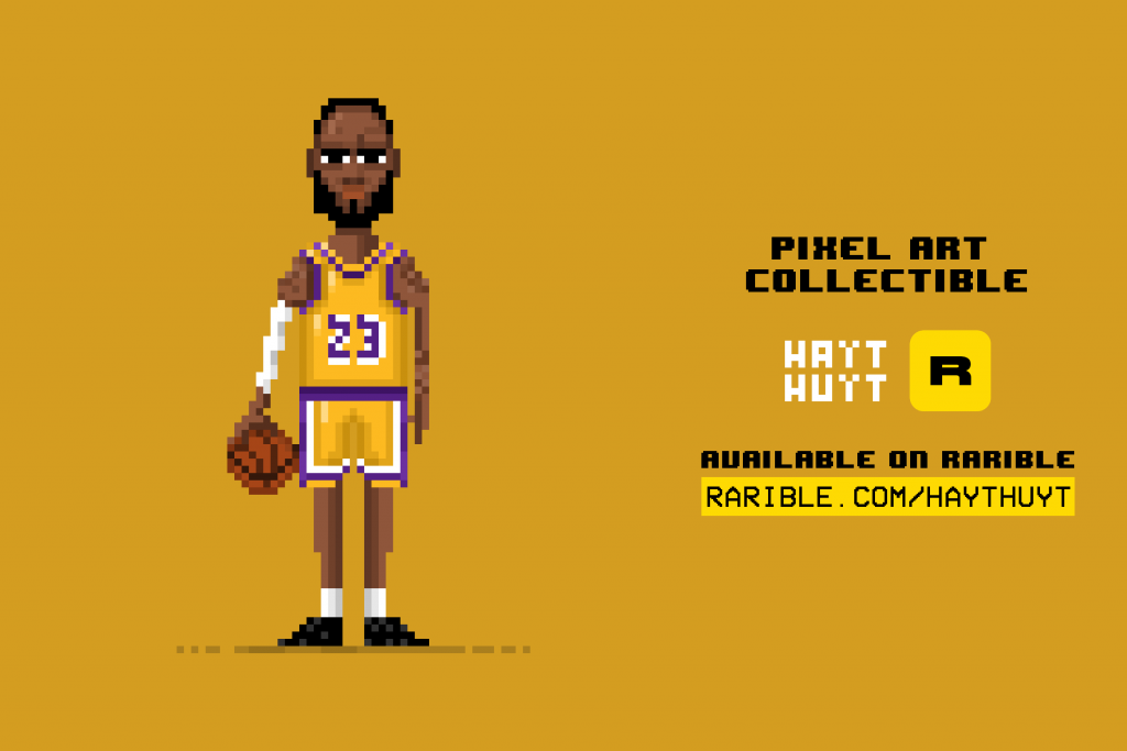 LeBron James / Pixel Art NFT